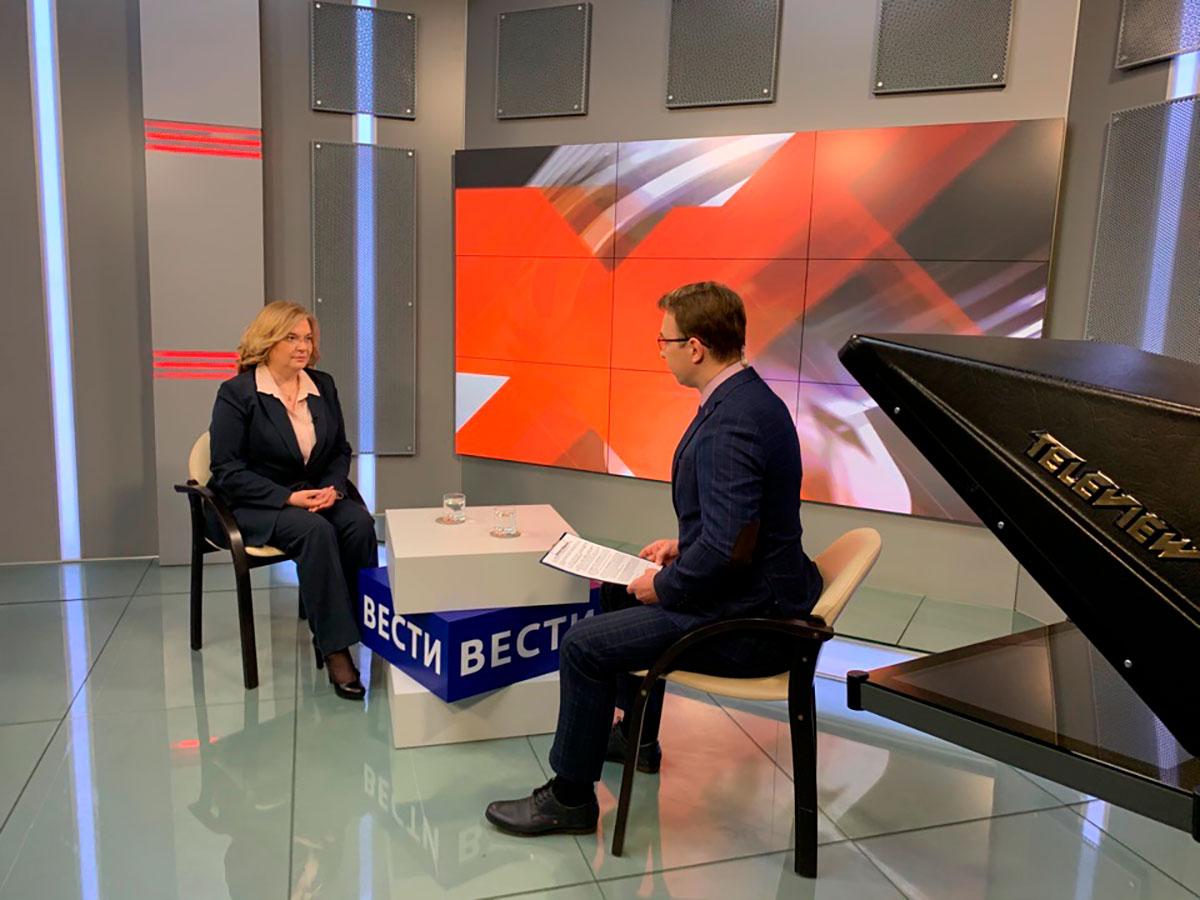 В эфир телеканалов «Россия 1», «Россия 24», ННТВ выйдут интервью с врио ректора Мининского университета
