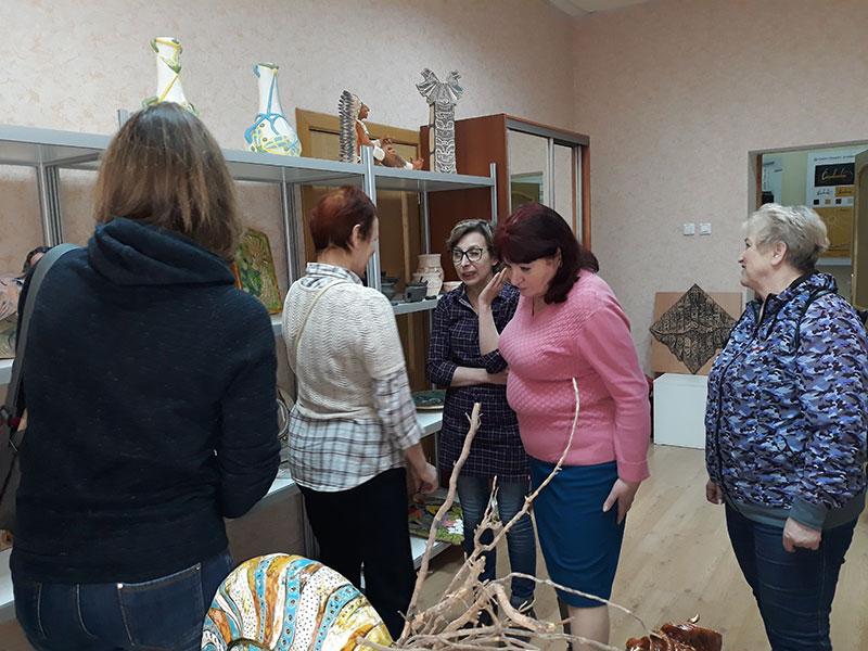 На ФДИиМТ проведена серия мастер-классов по декоративно-прикладному искусству.