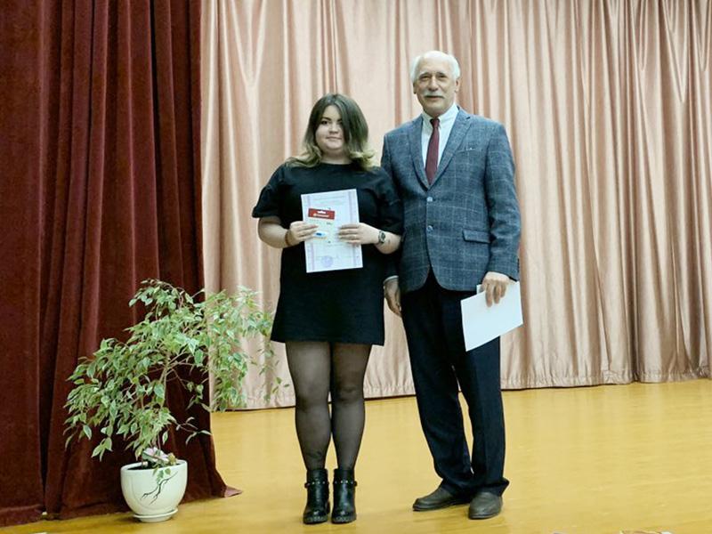 Студентка ФДИИМТ получила диплом за лучший доклад о творчестве Андрея Звягинцева