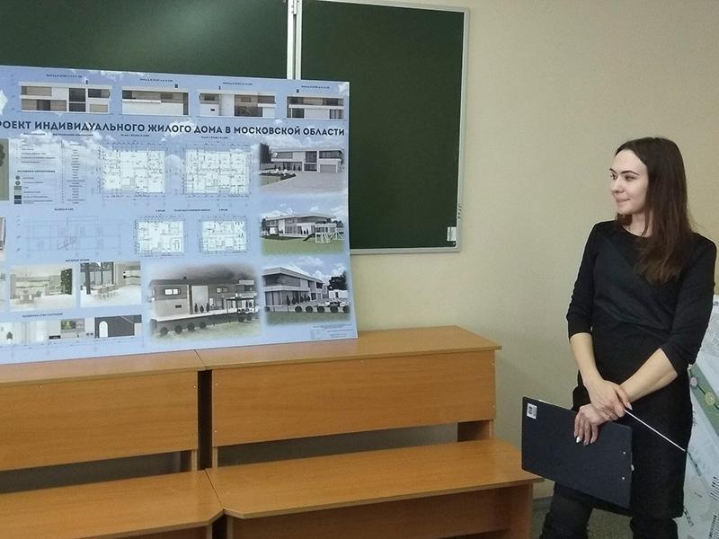 Защита дипломных проектов на кафедре средового и графического дизайна прошла на ФДИиМТ