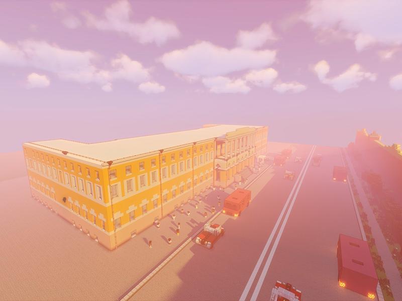 Студенты Мининского университета создали 3D-модель корпусов вуза в пространстве среды Minecraft