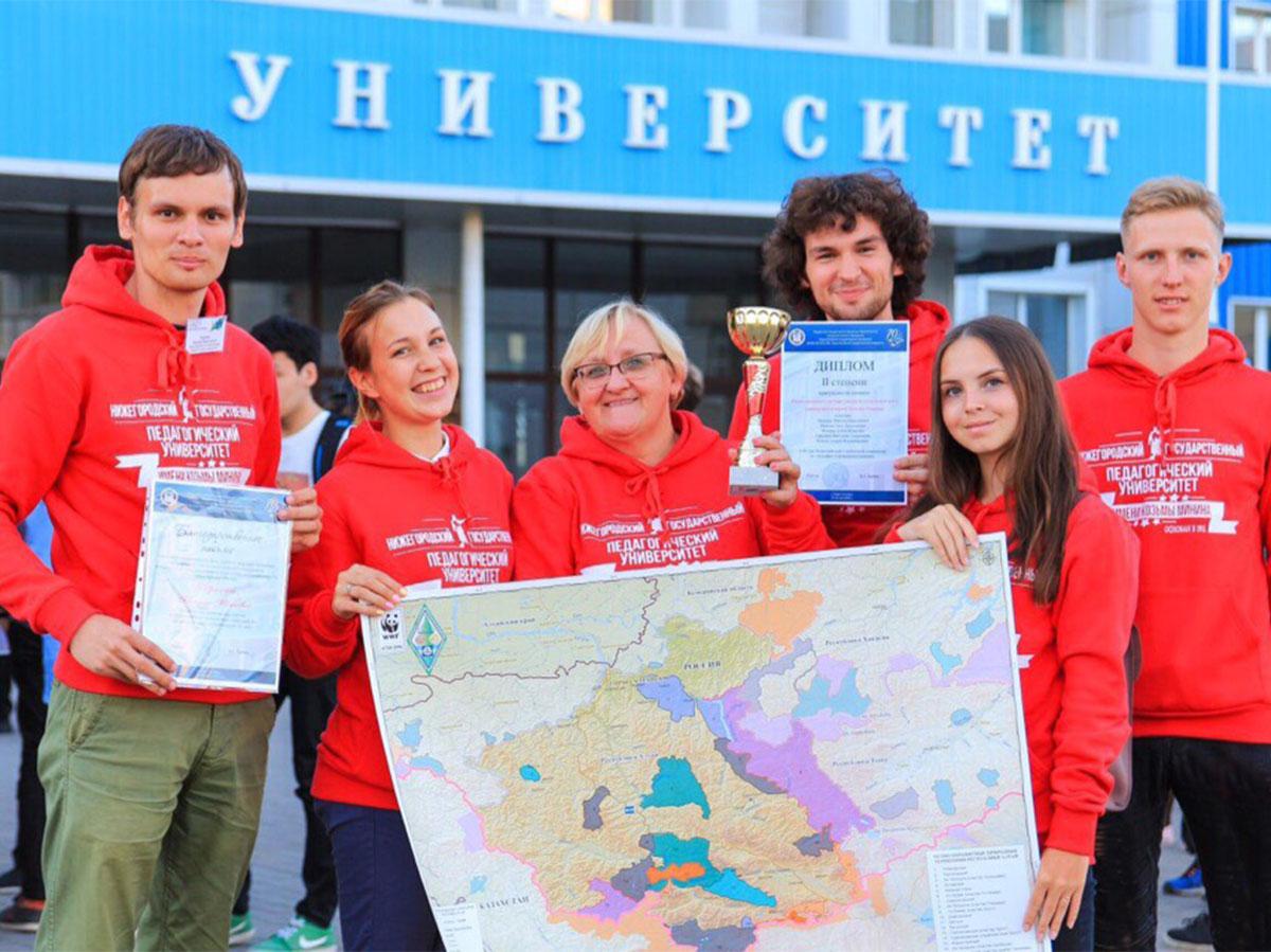 Студенты Мининского заняли второе место во Всероссийской студенческой олимпиаде по географии и природопользованию