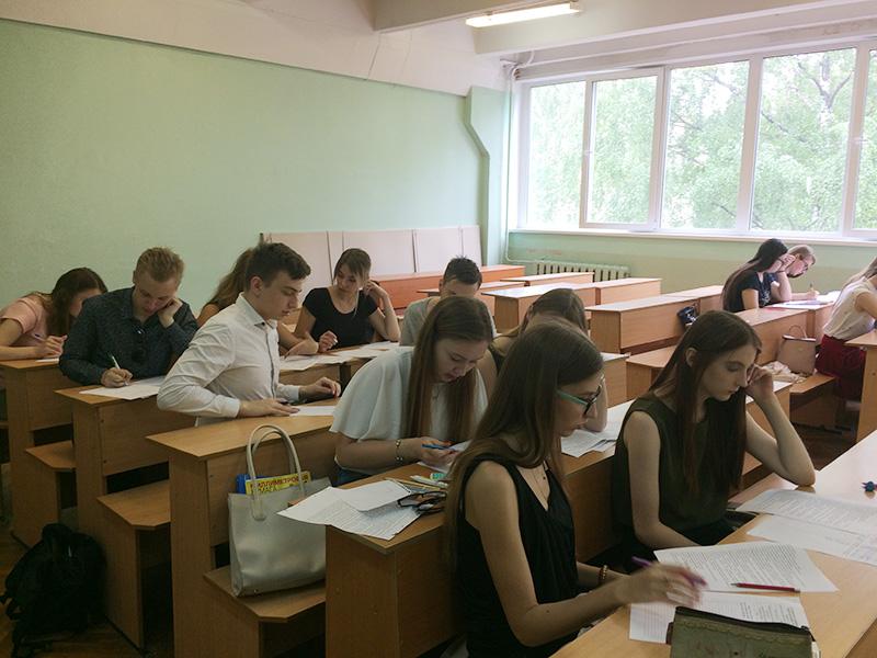 На ФуиСТС прошла студенческая олимпиада  по мировой экономике и международным экономическим отношениям
