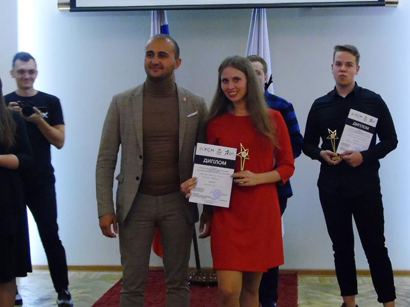 Студентка Мининского удостоена звания «Студент года – 2019»