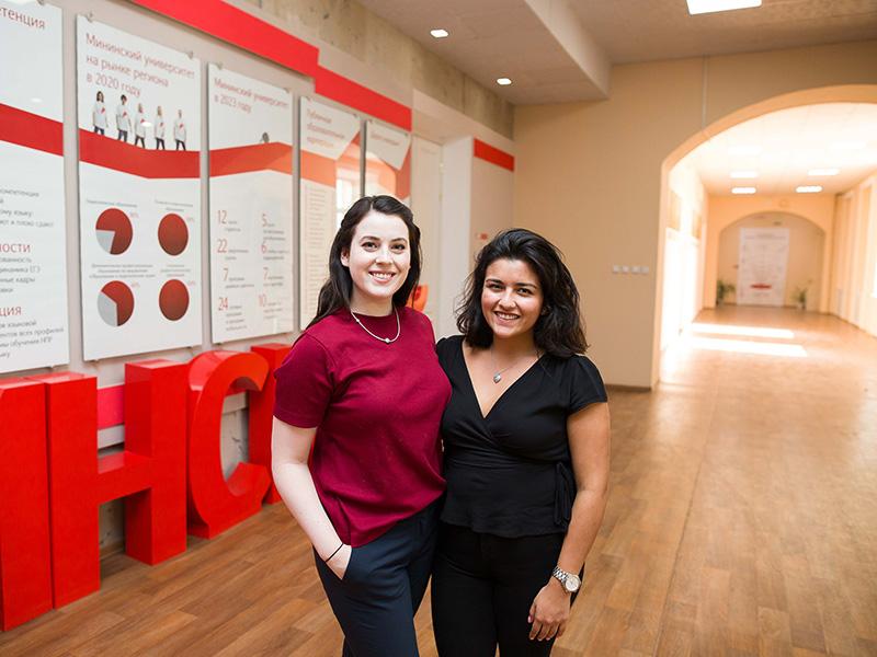 Мининский университет посетила делегация из представителей общественных колледжей США в рамках программы Фулбрайт.