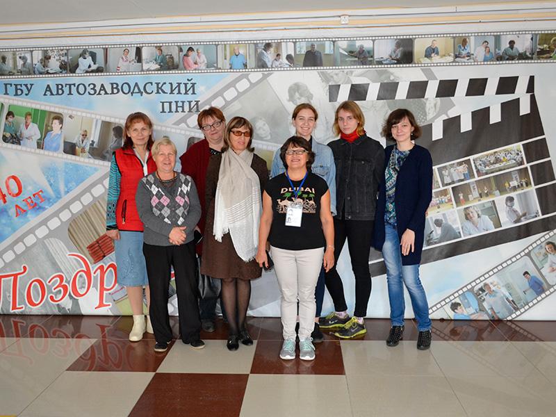 «Расширяем границы возможностей» вместе со студентами-волонтерами Мининского