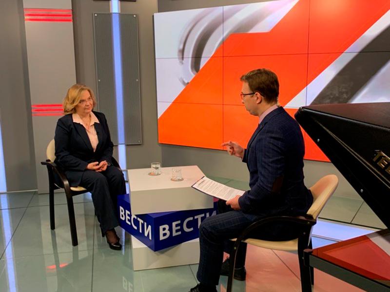 Елена Илалтдинова рассказала, как Мининский университет готовится к приему абитуриентов