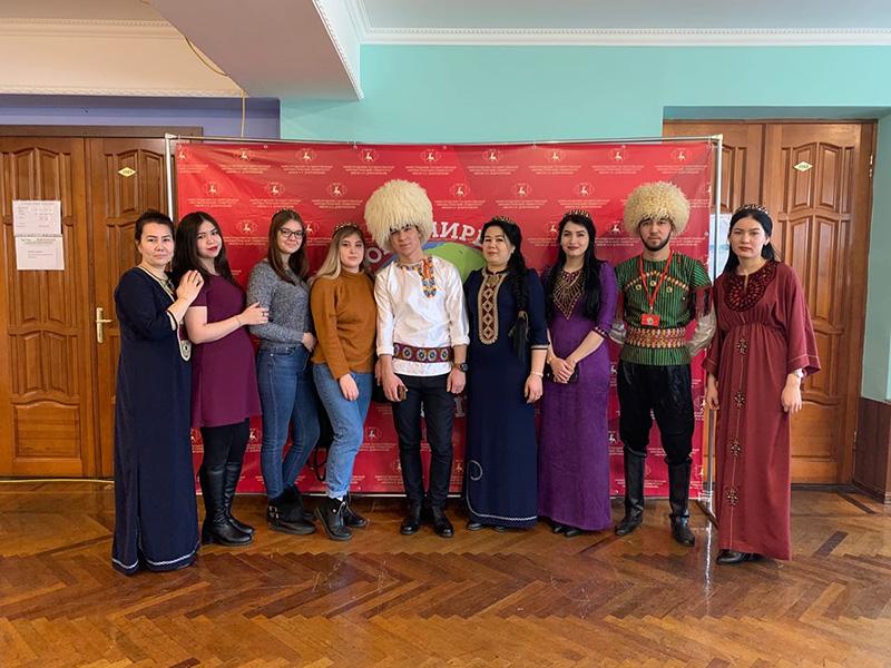 Иностранные студенты Мининского университета приняли участие в X Международном фестивале национальных культур «В этом мире большом»