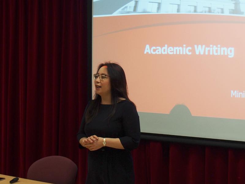 Советник при ректорате Ольга Ким провела цикл лекций в Университете образования Гонконга