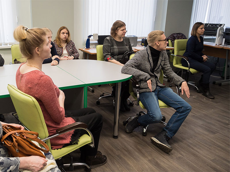 Студенты Мининского университета приняли участие в дискуссионной площадке по вопросам трудоустройства, социализации и профориентации людей с инвалидностью