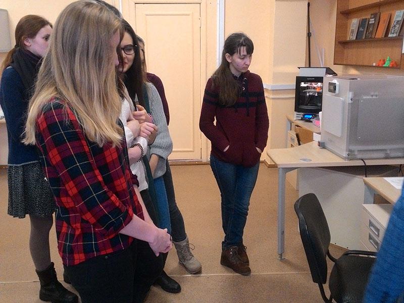Мастер-класс для студентов Института пищевых технологий и дизайна