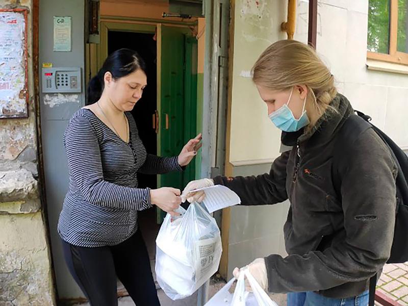 Студентка факультета психологии и педагогики Екатерина Михайлова о волонтерстве во время самоизоляции: «Я люблю помогать другим, это уникальный опыт общения»