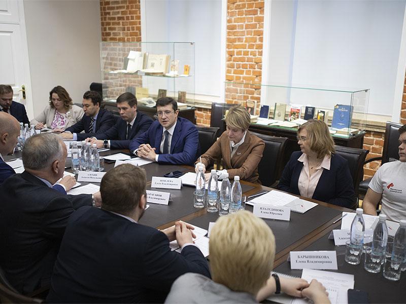 Губернатор Нижегородской области Глеб Никитин: «В реализации нацпроекта «Образование» мы делаем ставку на Мининский университет»