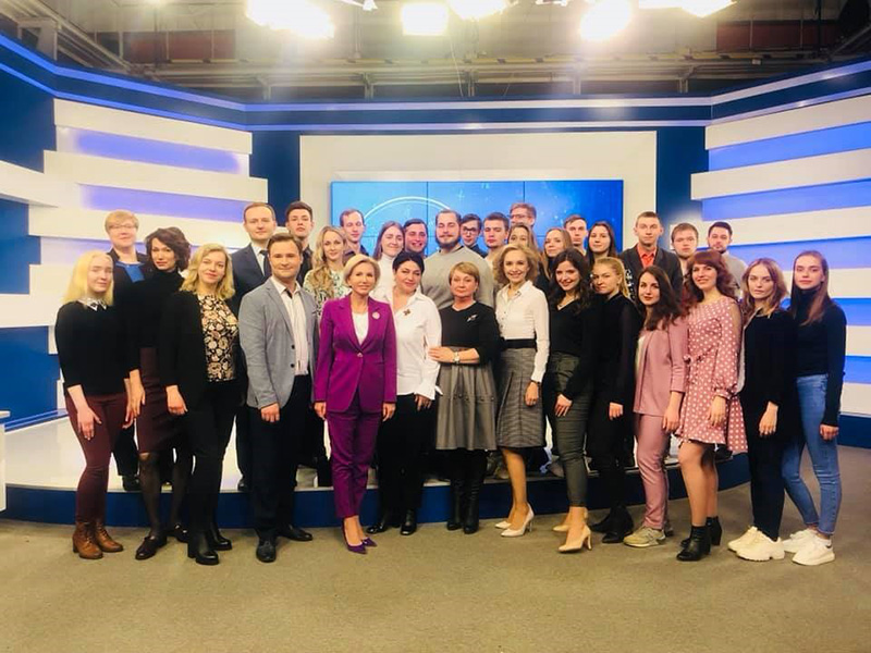 Студенты Мининского университета стали героями прямого эфира ННТВ «День за днем», посвященного студенческому конкурсу видеороликов на тему «Инклюзия»