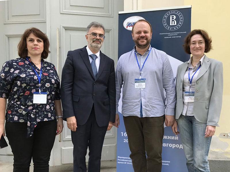 Преподаватели и студенты факультета гуманитарных наук Мининского университета приняли участие в IX международном конгрессе по когнитивной лингвистике «Интегративные процессы в когнитивной лингвистике»