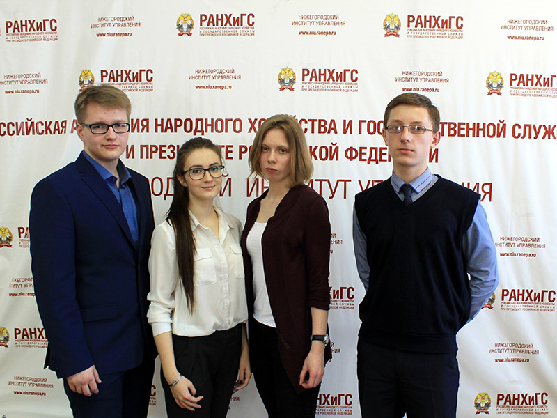 Сборная команда студентов факультета гуманитарных наук заняла II место в областной студенческой олимпиаде по политологии
