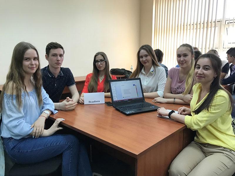 Студенты ФУиСТС приняли участие в деловой игре