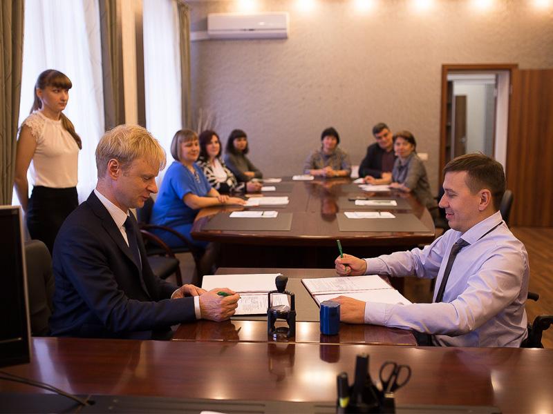 Мининский университет подписал соглашение о сотрудничестве с  Нижегородской региональной общественной организации инвалидов «Ковчег»