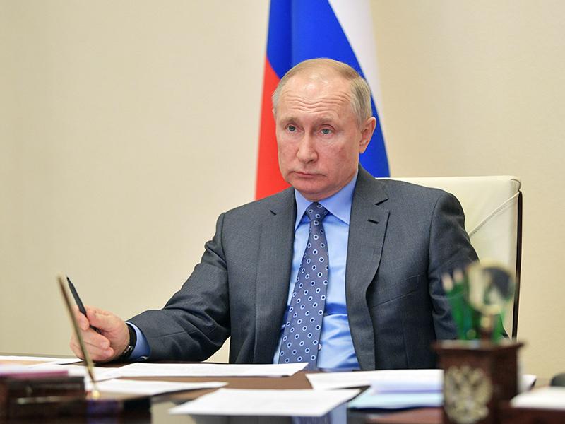 Владимир Путин обратился к россиянам