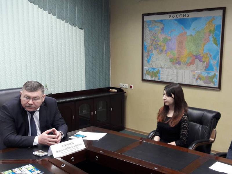Студенты-географы встретились с начальником Департамента Росгидромета по ПФО
