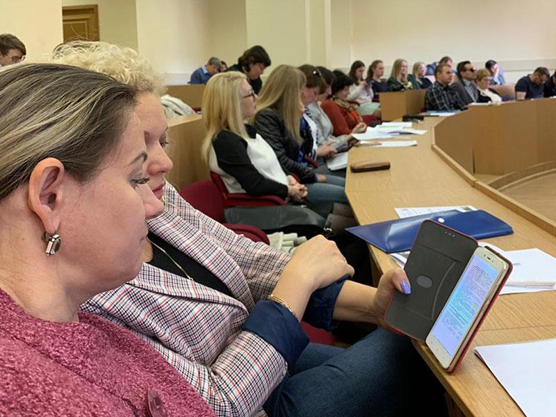 23-25 мая 2019 года Ресурсный учебно-методический центр  Мининского университета принял участие в проектной сессии сети РУМЦ России