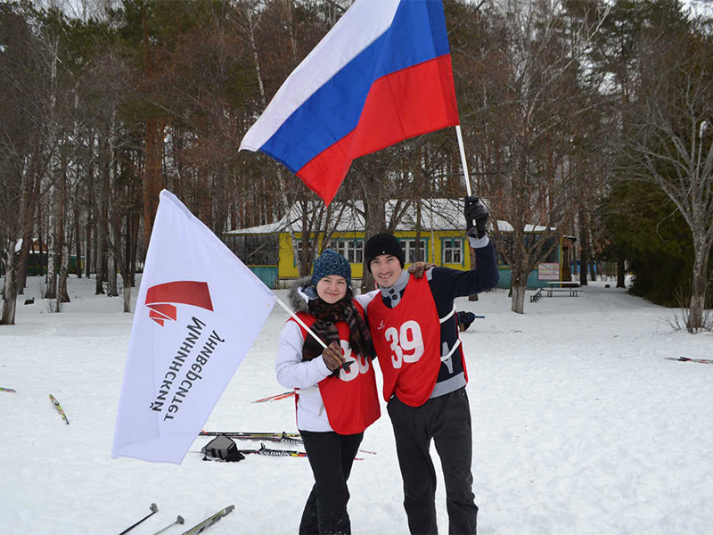 Состоялись выездные лыжные сборы для студентов факультета физической культуры и спорта