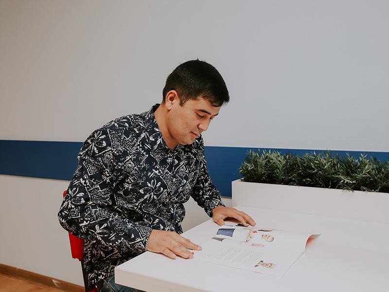 Гутлиев Сердар: «В дальнейшем планирую работать учителем английского языка в Туркменистане»
