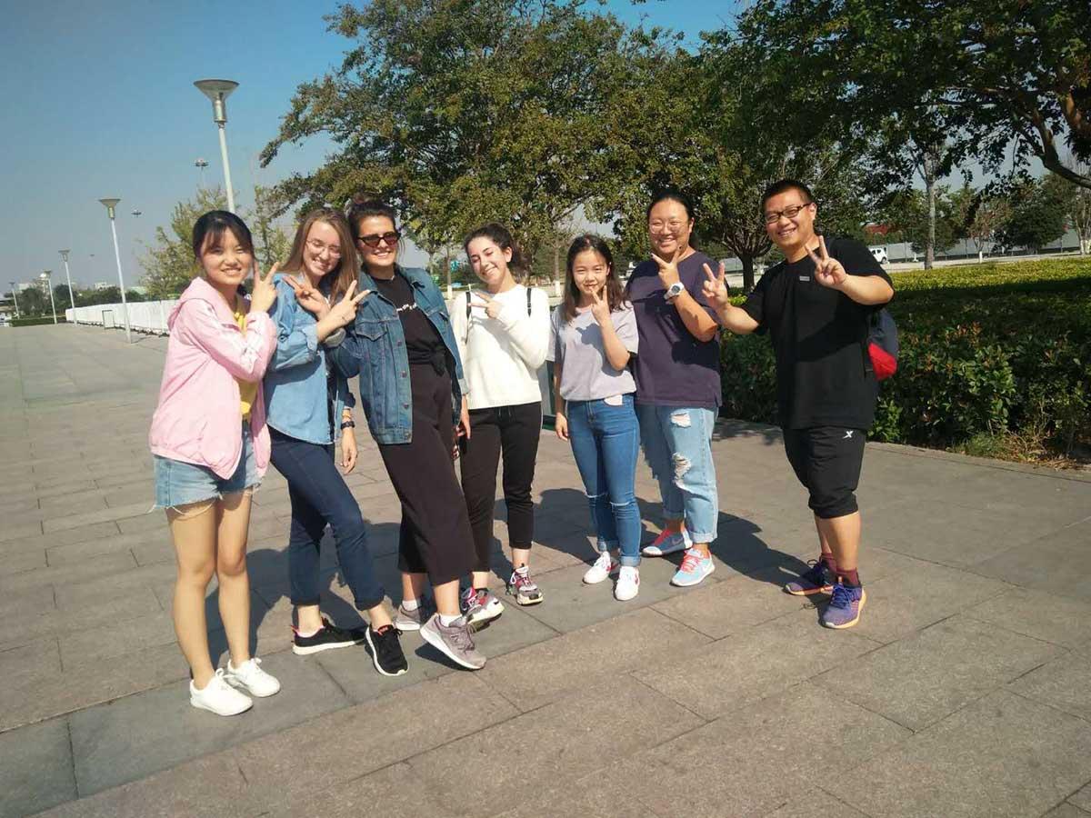 Студенты Мининского приняли участие в международной программе обмена между студентами Сианьского университета перевода (КНР) и Мининского университета