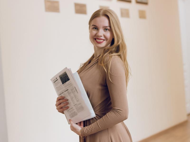 Студентка 5 курса ФГН стала победителем во Всероссийском конкурсе ассистентов преподавателей русского языка