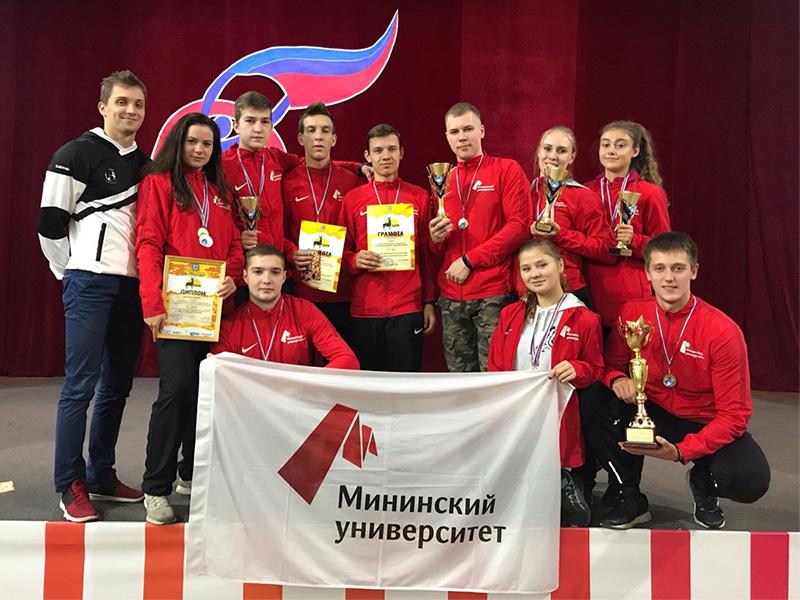 Студенты Мининского университета – победители окружной военно-патриотической игры