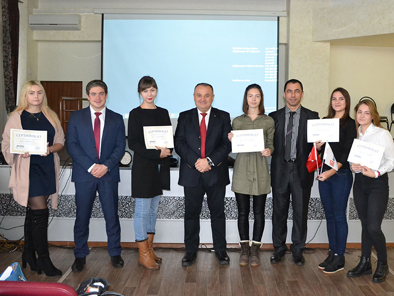 На ФУиСТС прошла презентация программы стажировки компании «KILIT GLOBAL TOURISM» (Турция) совместно с ТК «АНТАРЕС»