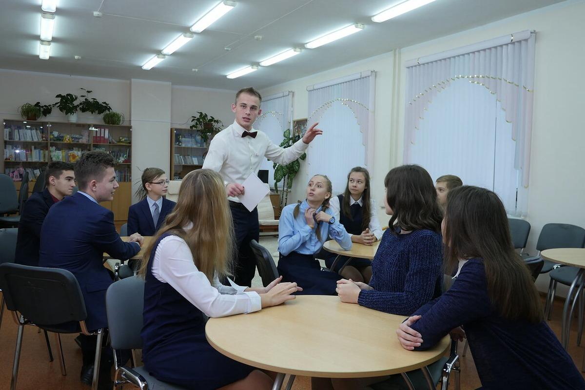 Учащиеся школы №85 посетили мастер-классы по английскому языку, организованные преподавателями Мининского университета