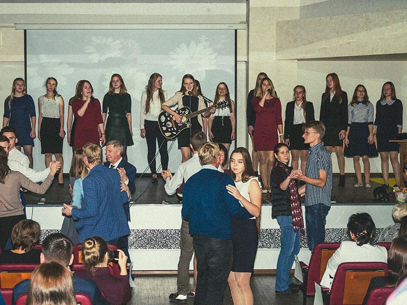 Концерт в честь Дня учителя прошел на ФУиСТС