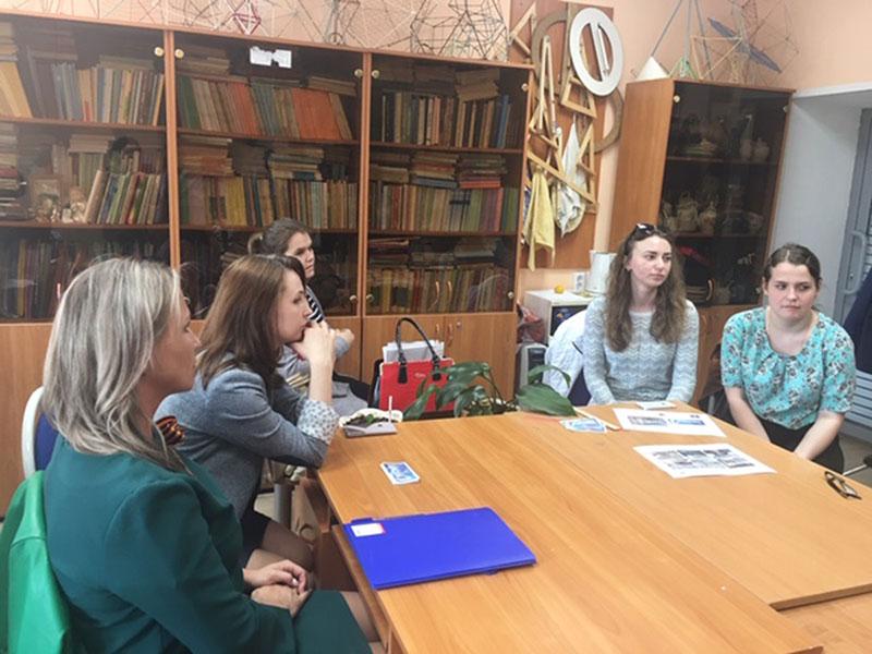 Заседание комиссии по трудоустройству выпускников состоялось 7 мая на факультете естественных, математических и компьютерных наук