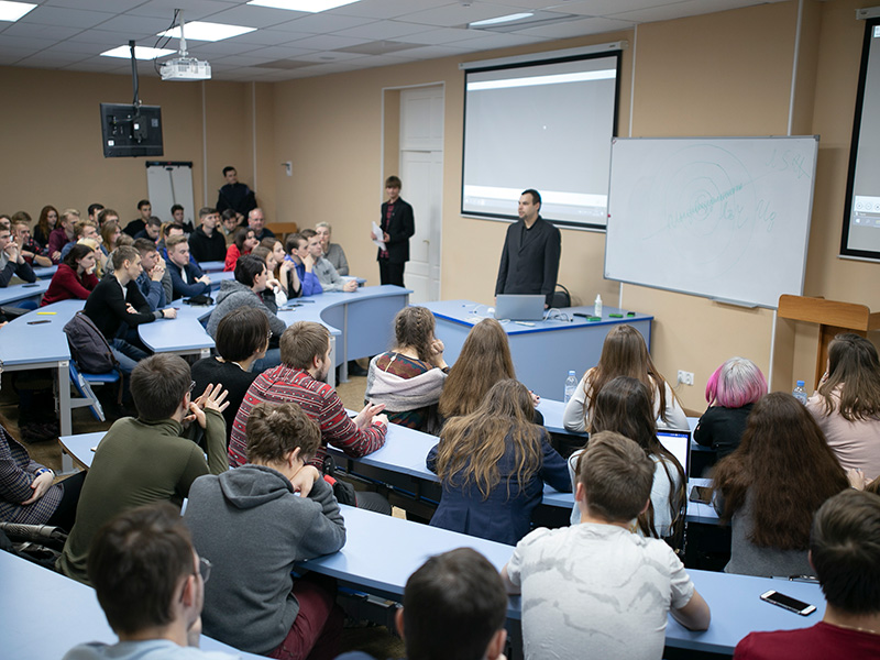 В Мининском университете прошла Всероссийская акция «Единый урок Цифровой экономики»
