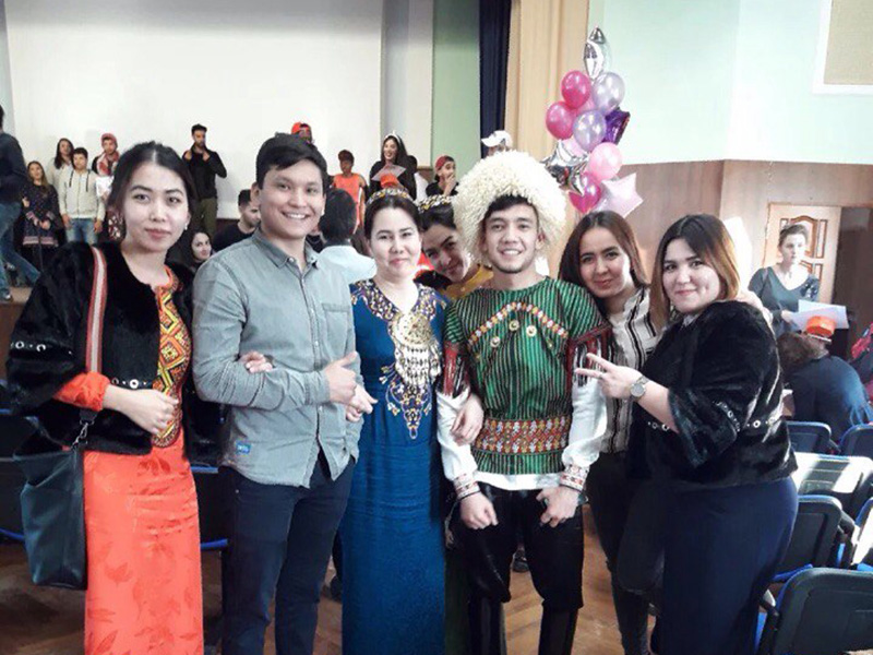 Иностранные студенты Мининского университета приняли участие в VIII Международном фестивале национальных культур «В этом мире большом»