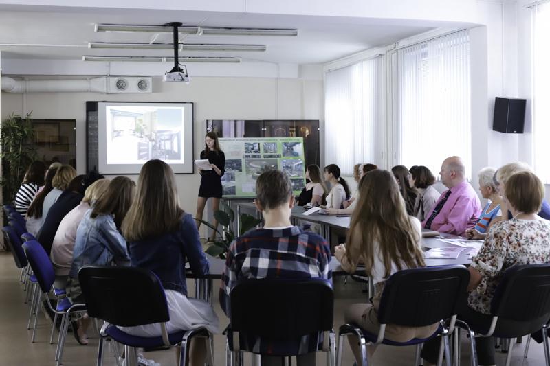 Студенты Мининского университета представили разработанные дизайн проекты помещений по заказу ЦОД