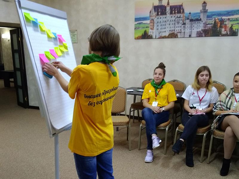 Cтартовал очный этап программы подготовки волонтеров «Эффективные практики инклюзивного волонтерства»