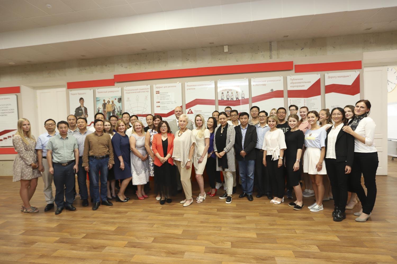 В Мининским университете завершились курсы повышения квалификации для преподавателей из Китая